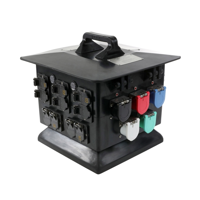 100 Amp Pagoda to Duplex Receptacles, Weather Resistant