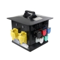 200 Amp Pagoda to 50 Amp Locking Receptacles, Weather Resistant
