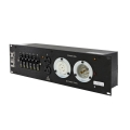 30 Amp 3RU Enclosed Rack, L21-30 to powerCON®