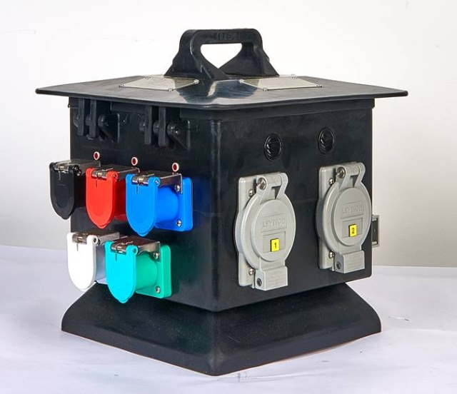 160 Amp Pagoda RV Box, Weather Resistant