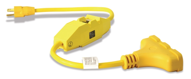 In-Line Portable Ground Fault Circuit Interrupter (GFCI)