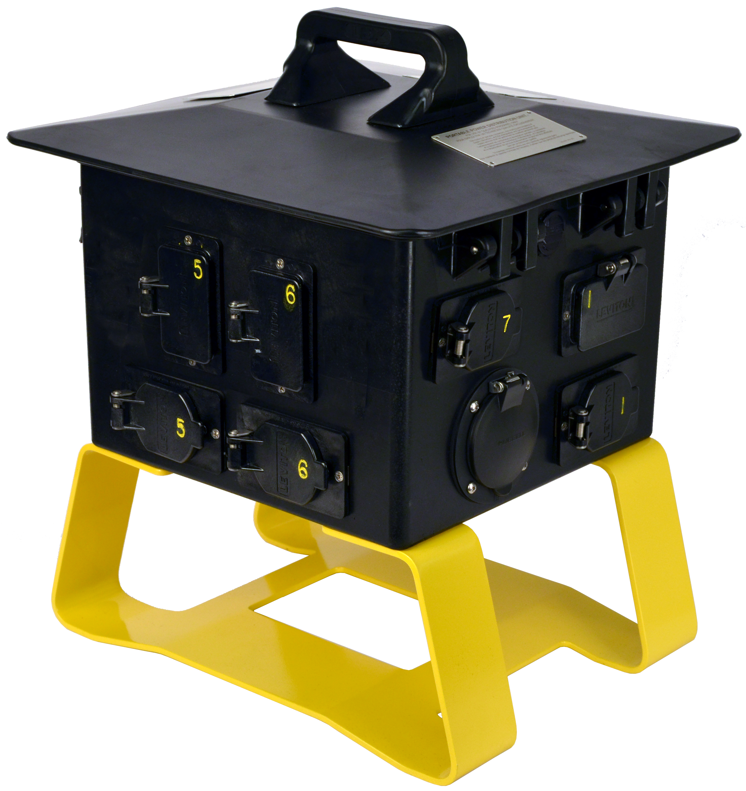 50 Amp Terrapin Station II™ to Locking Receptacles, Feed Thru 50 Amp Terrapin Station II™ to Locking Receptacles, Feed Thru Spider Box to GFCI L5-20/L6-30 Receptacles