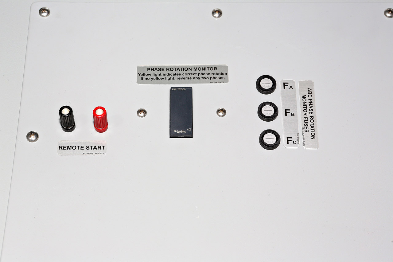 1200 Amp Power Input Panel