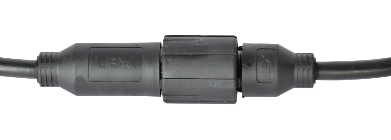 EverGrip® Molded 14-Pin Quarter Turn Motor Extension