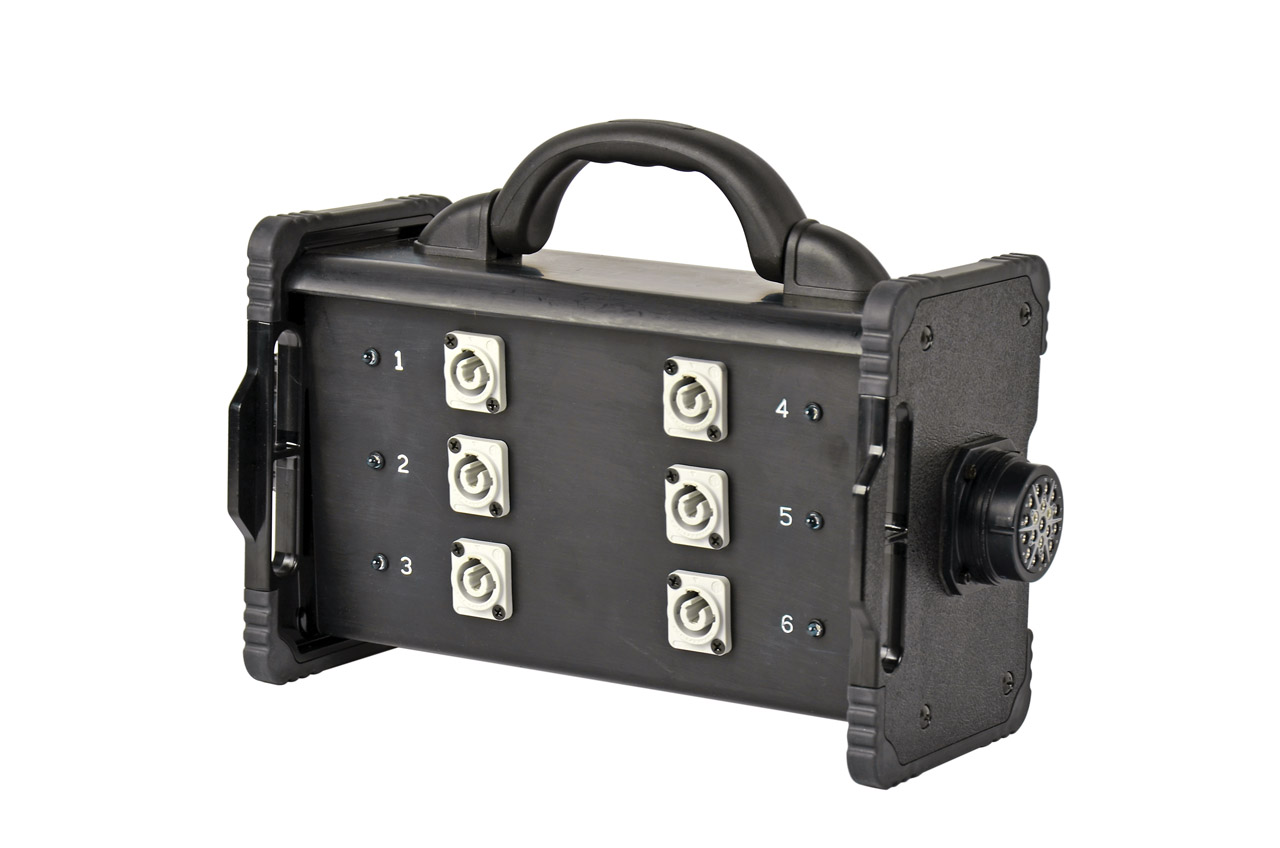 20 Amp Bento Box® powerCON® Breakout Box