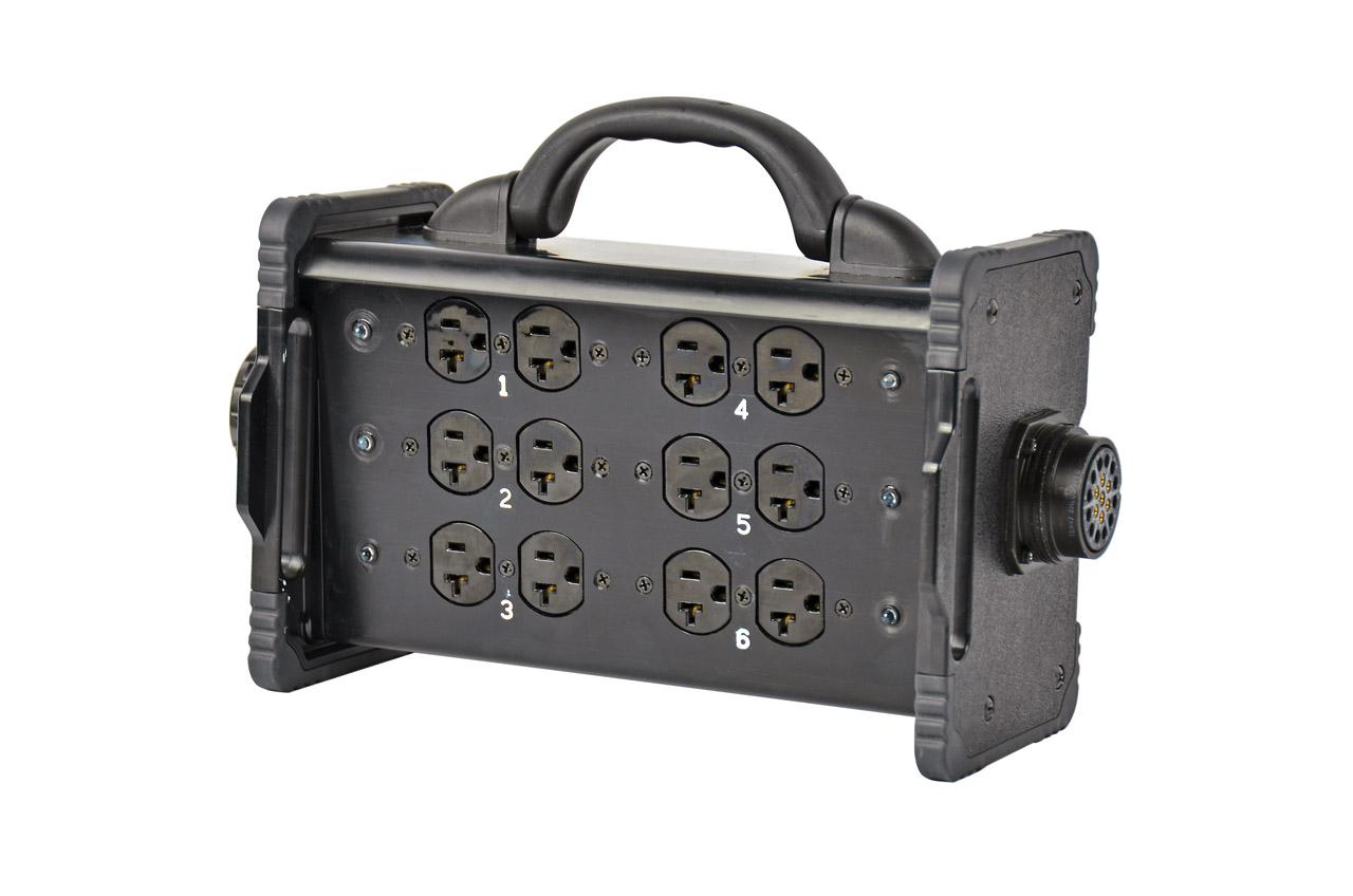 20 Amp Bento Box® Edison Breakout Box