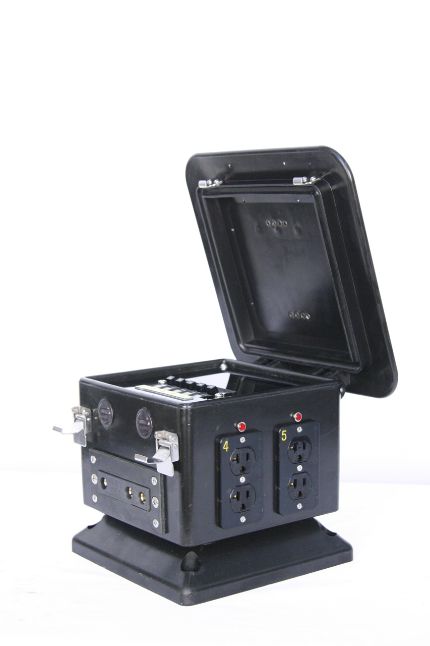100 Amp Pagoda Lunchbox