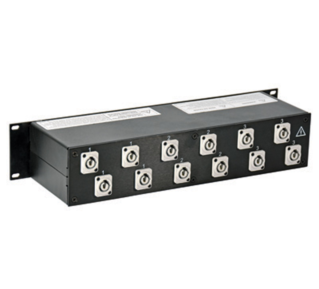 30 Amp 2RU Enclosed Rack, L21-30 to powerCON®
