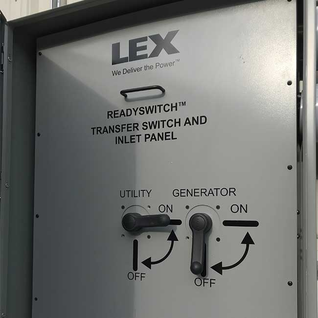 PowerGATE™ ReadySwitch™ with Manual Transfer Switch