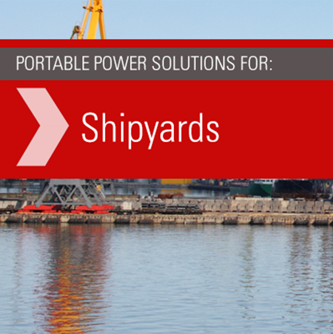 Power Distribution for Shipyards
