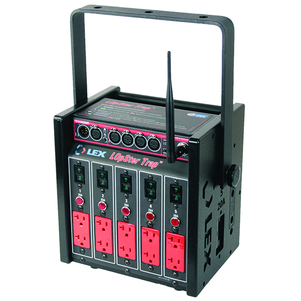 100 Amp LOpSter™ Lunchbox, Wireless DMX